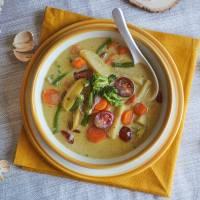 Curry verde de verduras al estilo Tailandés