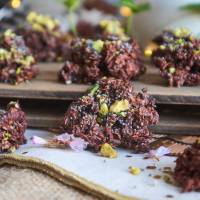 Rocas de avena y chocolate